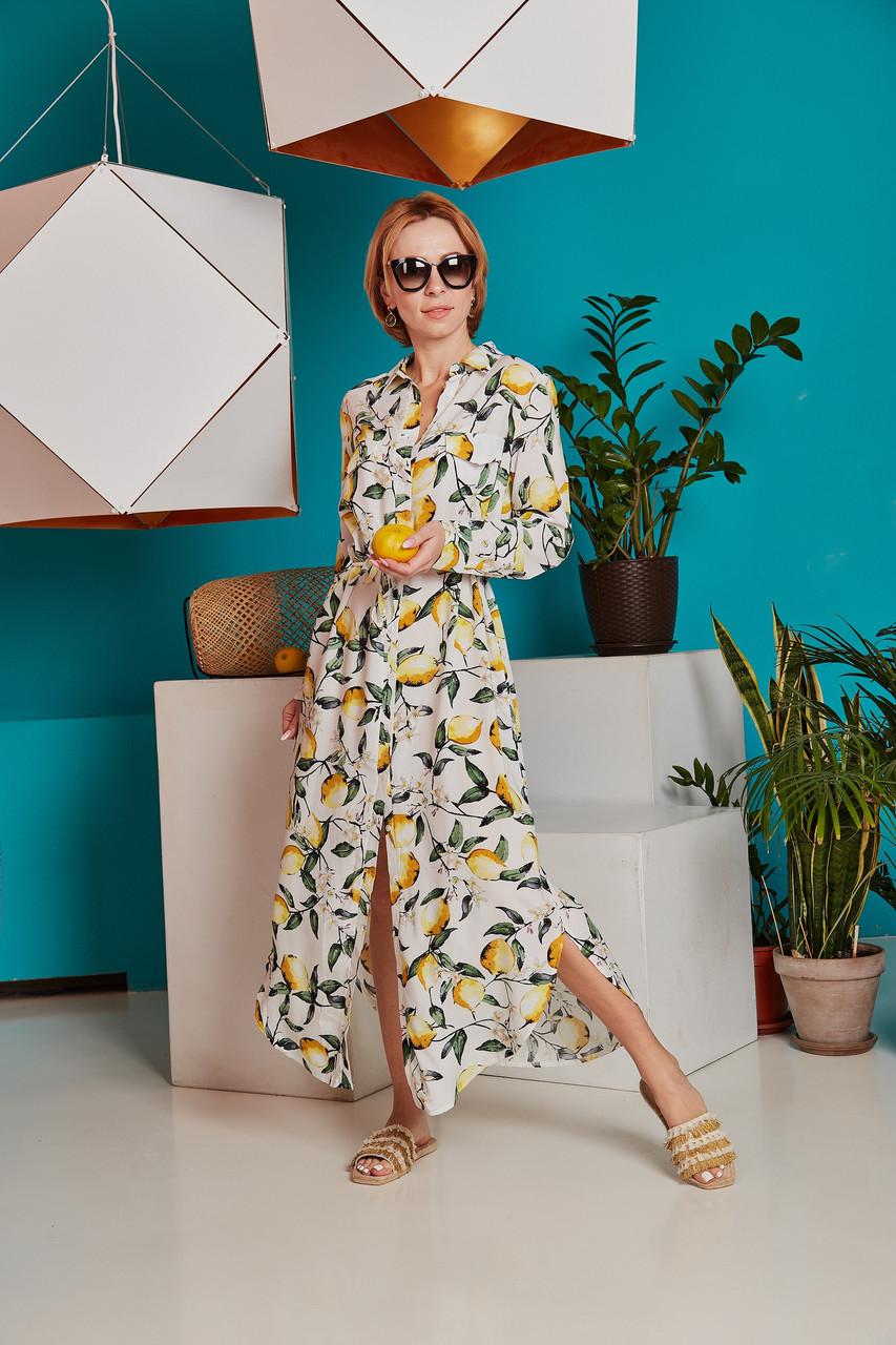 Платье с лимонами.Catherines.Турция.