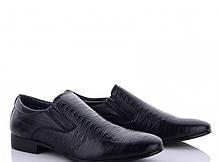 Туфли подросток мальчик черные Мир-AO1702