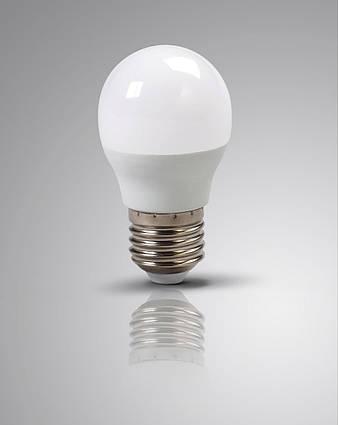 Лампа светодиодная 6,5 Ватт Е27 G45 3000K