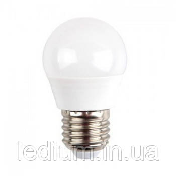 Лампа светодиодная 7 ватт Е27 G45 4100K