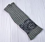М 94053 Комплект для мальчика, подростка шапка  с кнопкой на флисе  и снуд, разние цвета, фото 5