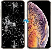 Замена стекла экрана в iPhone Xs MAX (Запчасть + работа)