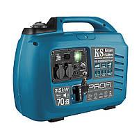 Инверторный комбинированный генератор (газ-бензин) Konner&amp,Sohnen KS 3300iEG S-Profi
