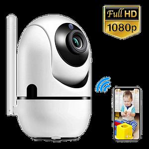 IP камера видеонаблюдения WiFi CAMERA IP Y13G - беспроводная поворотная панорамная камера с распознаванием лиц