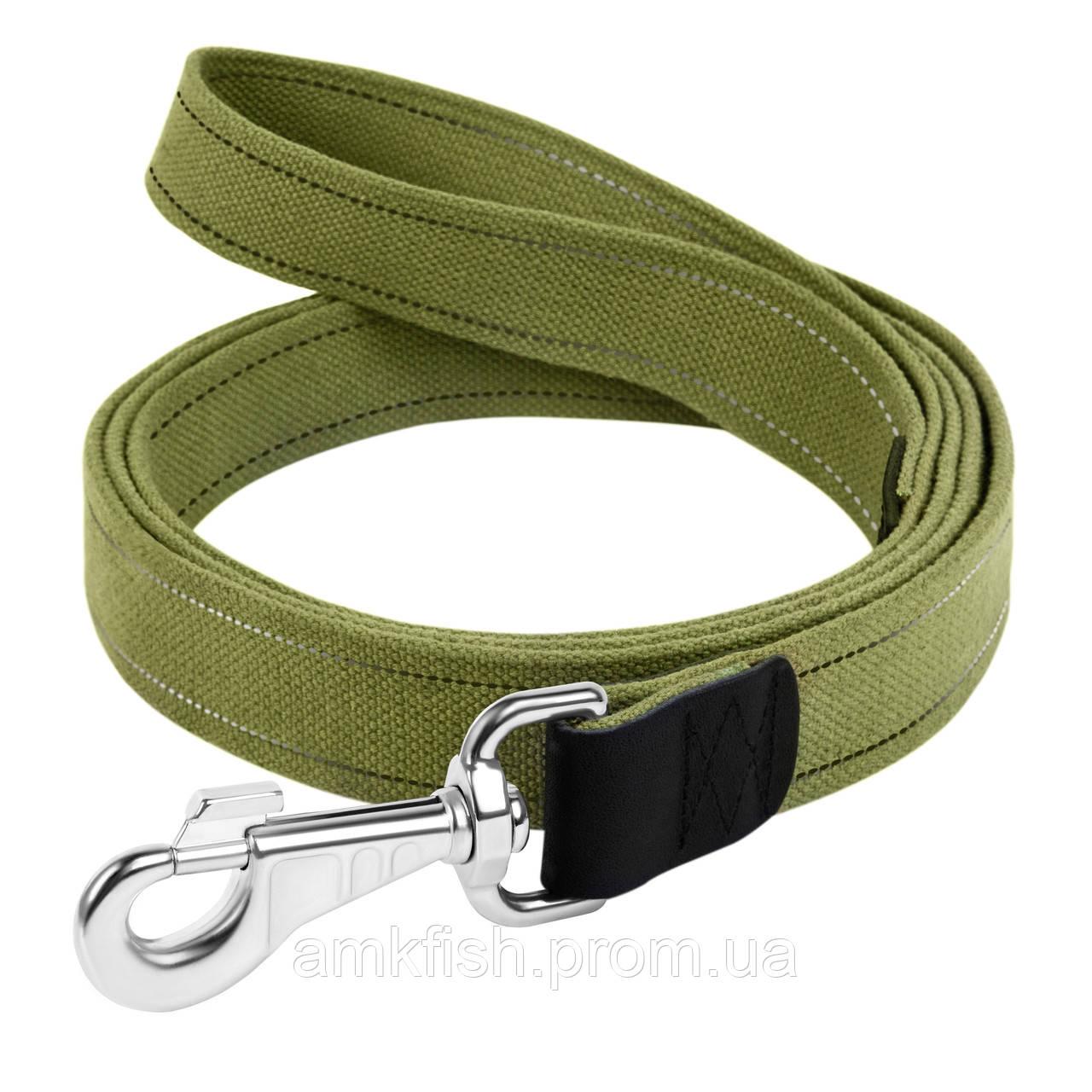 Поводок Collar брезент для собак 150смх35мм