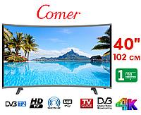 """Телевизор Comer 40"""" Smart TV, Wi-Fi, E40DM1100, Оригинал, Смарт ТВ"""