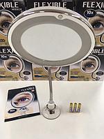 Гибкое зеркало с подсветкой для макияжа Flexible