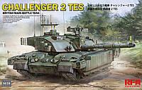 CHALLENGER 2 TES. Сборная модель современного британского танка в масштабе 1/35. RFM RM-5039