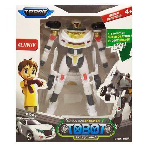 """Робот-трансформер """"Тобот"""" білий 40142, фото 2"""