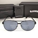 Чоловічі сонцезахисні окуляри Chrome Hearts Прямокутні Хром Хартс Модні 2020 Стильні Брендові репліка, фото 4