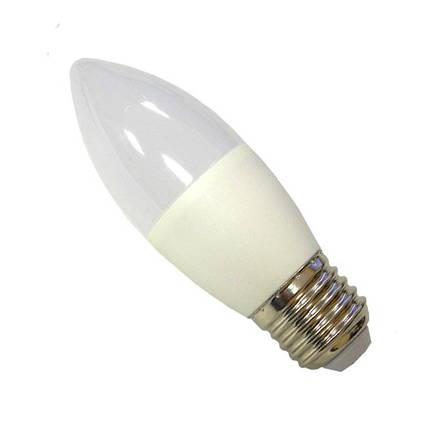 Лампа светодиодная 7 ватт Е27 С37 4100K