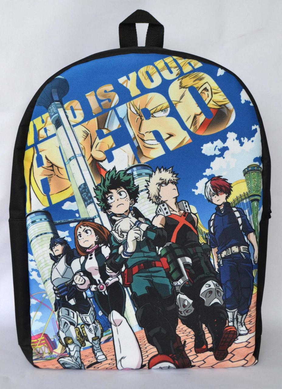 Рюкзак аниме - Моя геройская академия