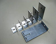 Алюминиевый фасадный кронштейн 100х140х40-L