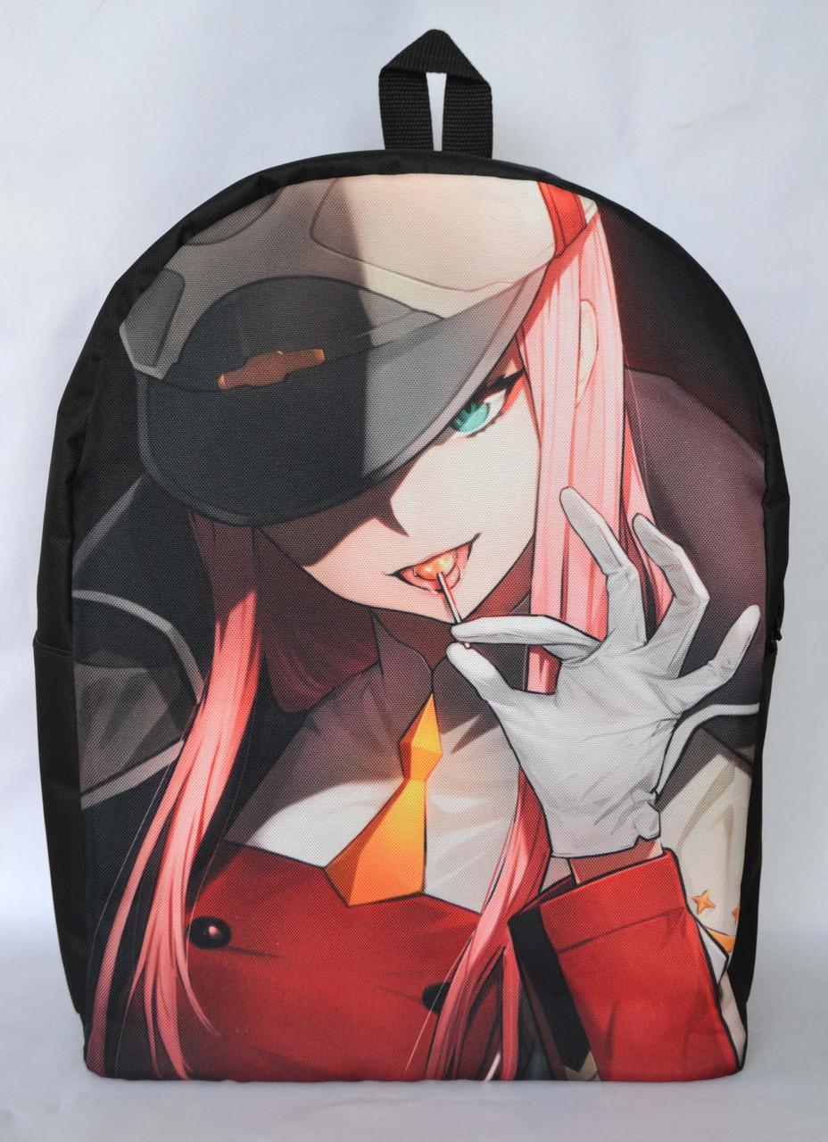 Рюкзак аніме - Darling in the Franxx - Zero Two