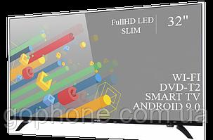 """Телевизор Ergo 32"""" Smart-TV/Full HD/DVB-T2/USB (1920×1080) Android 9.0, фото 2"""