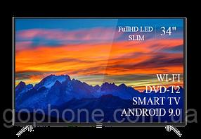 "Телевизор Thomson 34"" Smart-TV/Full HD/DVB-T2/USB (1920×1080) Android 9.0"