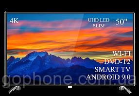 "Телевизор Thomson 50"" Smart-TV//DVB-T2/USB АДАПТИВНЫЙ UHD,4K/Android 9.0"