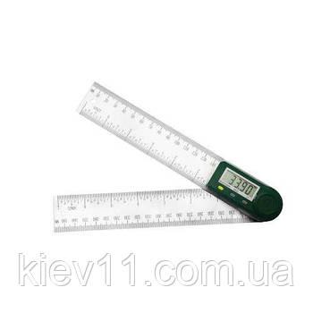 Электронный угломер с линейкой 200 мм PROTESTER 5423-200