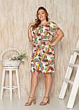 Женское летнее платье,размеры:50,52,54,56., фото 2