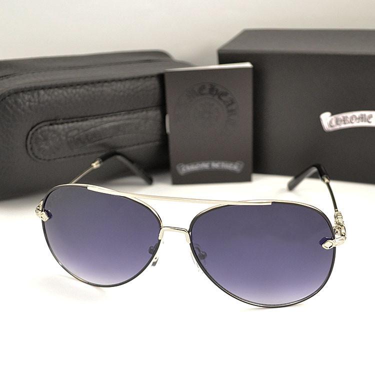 Женские солнцезащитные очки Chrome Hearts Авиаторы Модные 2020 Хром Хартс 2020 Стильные Брендовые реплика