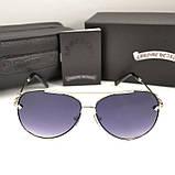 Женские солнцезащитные очки Chrome Hearts Авиаторы Модные 2020 Хром Хартс 2020 Стильные Брендовые реплика, фото 4