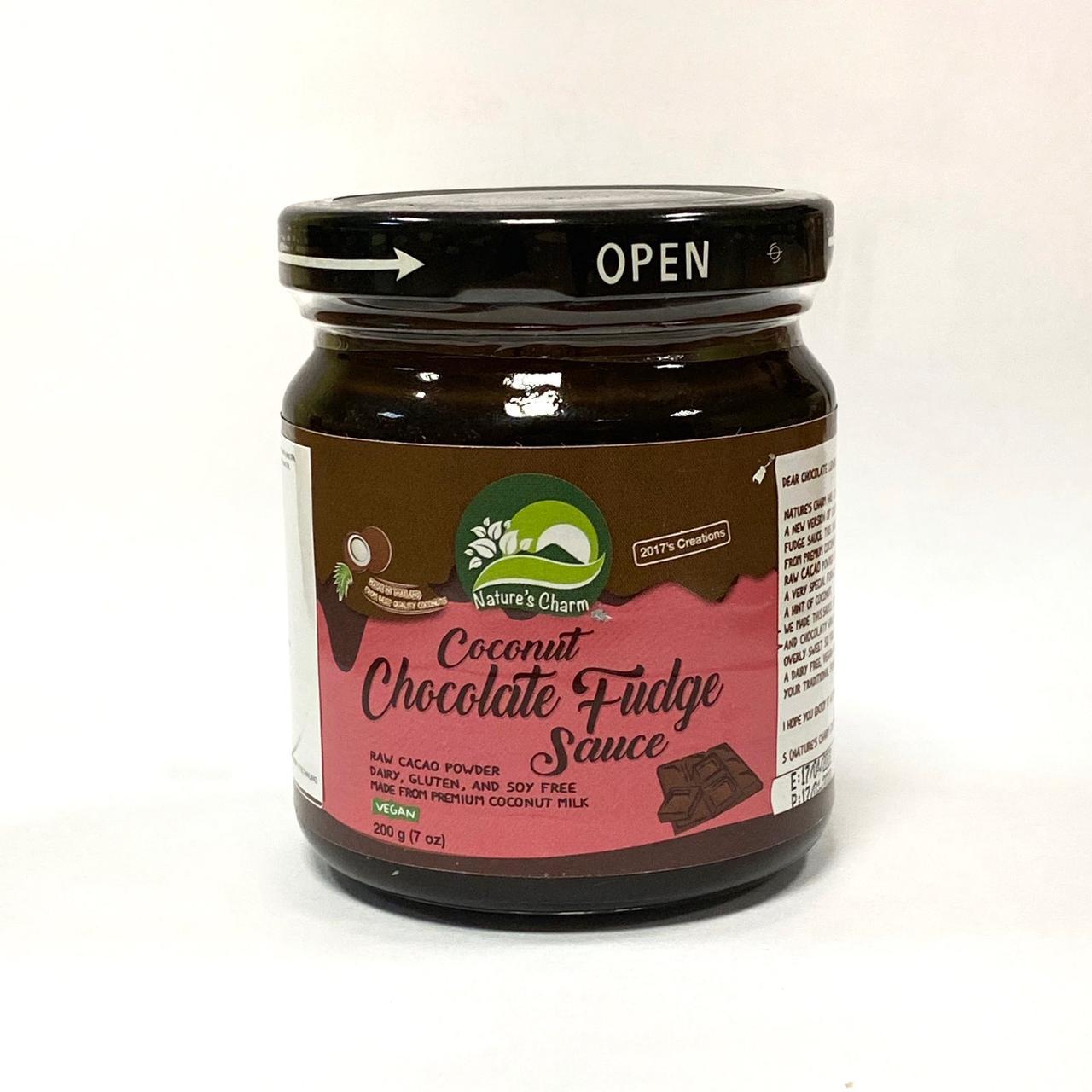 Соус кокосовый «Шоколадная Помадка» Nature's Charm , 200 г