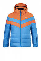Куртка KJUS дет. Downforce Jacket aqua.blue-korange FW18-18