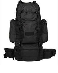 Рюкзак полевой Ranger 75L, black Mil-Tec PES SCHWARZ