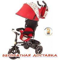 Велосипед детский 3х колесный Kidzmotion Tobi Venture RED, фото 1