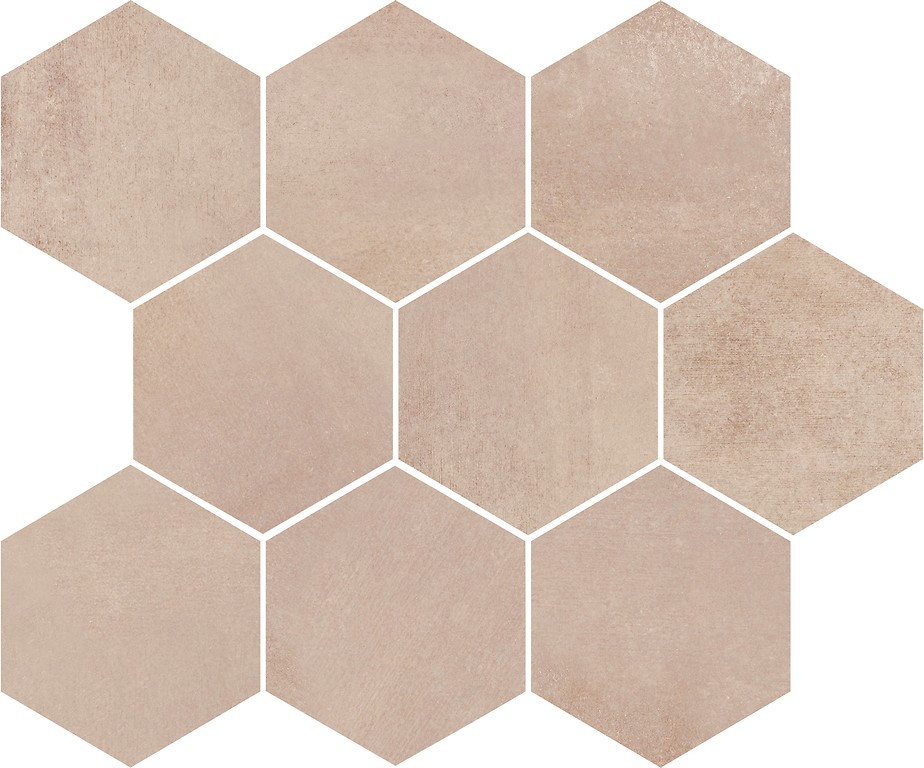 Плитка Opoczno / Arlequini Mosaic Hexagon  28x33,7