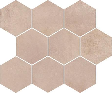 Плитка Opoczno / Arlequini Mosaic Hexagon  28x33,7, фото 2
