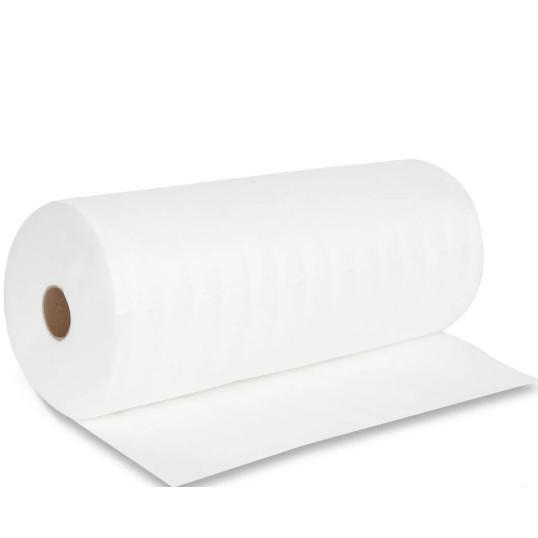 Салфетка (полотенце) спанлейс 40х70см, гладкая структура, рулон с перфорацией №100