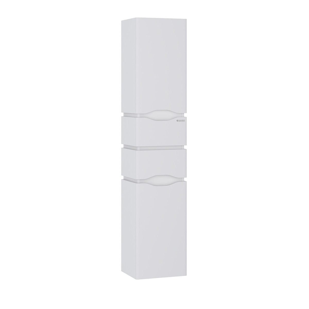 Пенал Sanwerk «Алесси AIR» 35 белый с корзиной прав