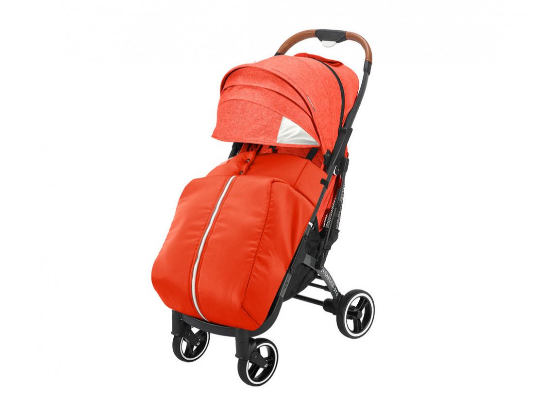 Прогулочная коляска Yoya Plus PRO Premium 2020 Красная оранжевая