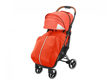 Прогулочная коляска Yoya Plus PRO Premium 2020 Красная оранжевая, фото 2