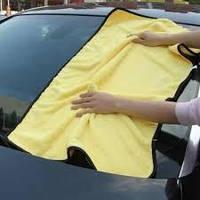 Большое полотенце, тряпка из микрофибры для автомобиля 92x56 см