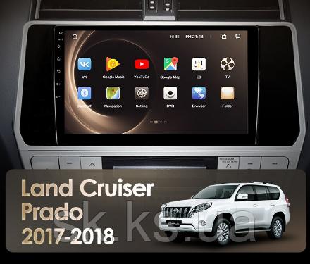 Junsun 4G Android магнітола для Toyota Land Cruiser Prado 150 2017 - 2018
