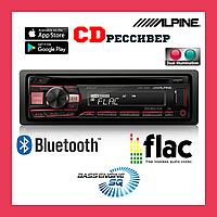 Магнитола для автомобиля с CD приводом и USB. Зеленая и красная подсветка ALPINE CDE-201R, фото 1