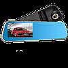 Автомобильный видеорегистратор DVR DV460 FullHD 1080p - видеорегистратор зеркало заднего вида с двумя камерами, фото 5