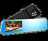 Автомобильный видеорегистратор DVR DV460 FullHD 1080p - видеорегистратор зеркало заднего вида с двумя камерами, фото 2