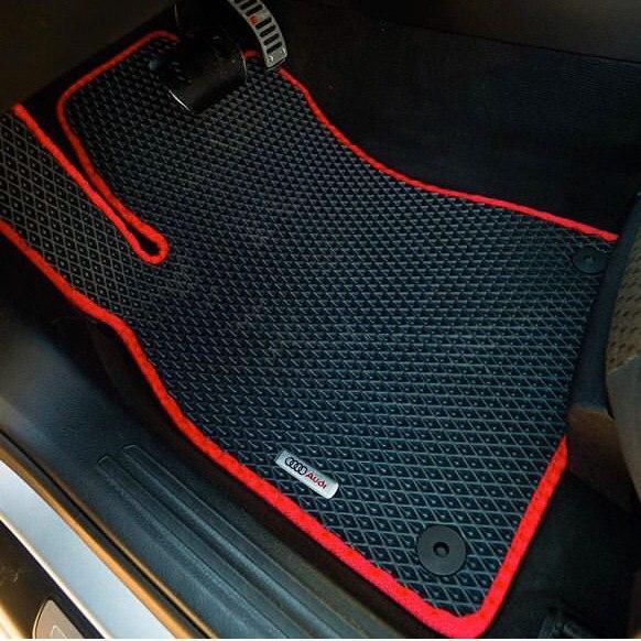 Автоковрики EVA для Audi Q8, Набор автоковриков Салон + Багажник