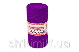 Трикотажний Шнур Neon Macrame, колір Ультрафіолетовий
