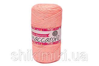 Трикотажний Шнур Neon Macrame, колір Персиковий Неон