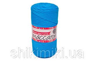 Трикотажний Шнур Neon Macrame, колір Ультрамариновий Неон