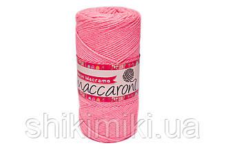 Трикотажний Шнур Neon Macrame, колір Рожевий Неон