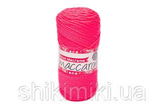 Трикотажний Шнур Neon Macrame, колір Ультрамалиновый Неон