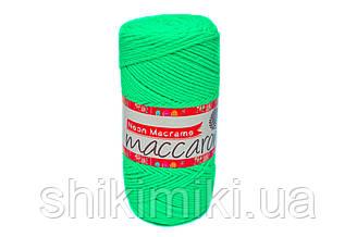 Трикотажний Шнур Neon Macrame, колір Ультразеленый