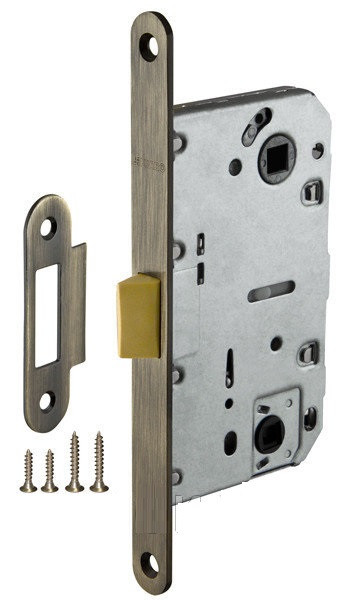 Механізм для дверей під фіксатор LH 96-50 Р Armadillo бронза