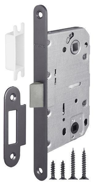 Механизм для дверей под фиксатор LH 96-50 Р Armadillo графит