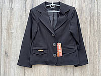 Піджак для дівчаток. (тканина-мадонна). 122 - 140 зростання.